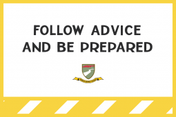 23032020 Follow advice and be prepared 01