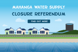 Mahanga Water Supply Closure Referendum 01