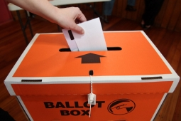 vote in ballot box copy