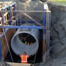 wastewater pipe