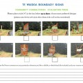 Te Wairoa Boundary Signs Evaluation Form