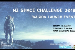 NZ Space Challenge Flyer