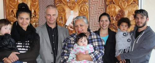 Wairoas newest Kiwis Taylor Family
