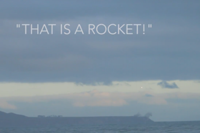 Watch Rocket Labs first test launch -